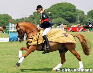 Marion Engelen et Dornick B, photo Dirk Caremans