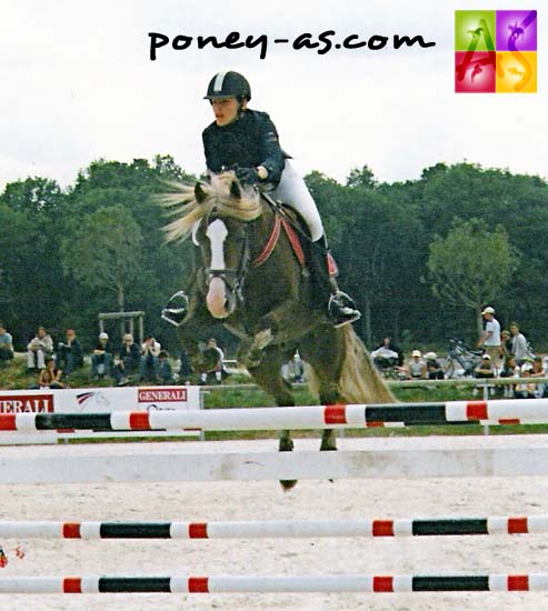 Justine Seuillerot et Havane Welsh - ph. Poney As