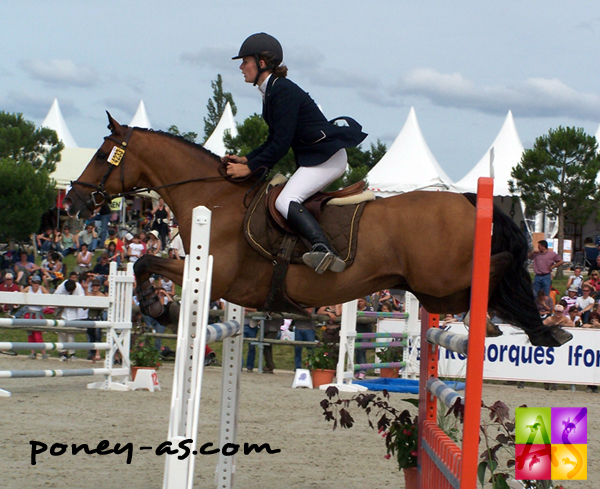 Allison Vanderlinden et Japlou de Valette, photo Pauline Bernuchon
