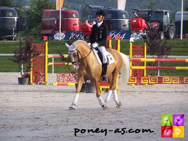 Sönke Rothenberger avec Deinhard B, double champion d'Europe... photo Pauline Bernuchon