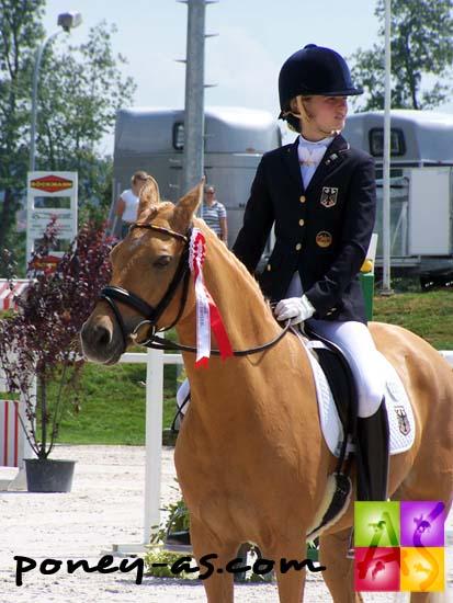 Carlotta Hassenburger (Ger) et Dulcia, photo Pauline Bernuchon