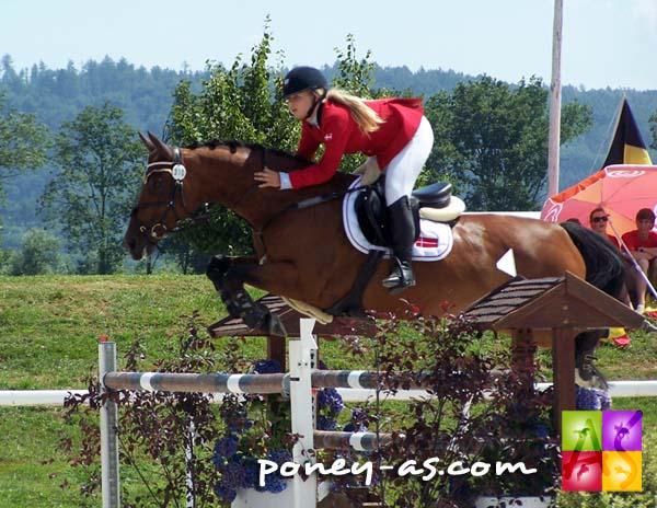 Jessica Jensen Vinter (Den) et Nikolina sont médaillées de bronze, photo Pauline Bernuchon