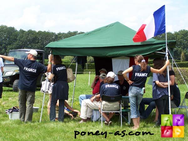 Le clan français, photo Pauline Bernuchon