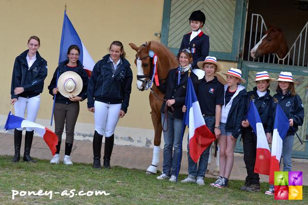 Equipe de France du CDIOP - CDIP de Saumur - ph. Pauline Bernuchon