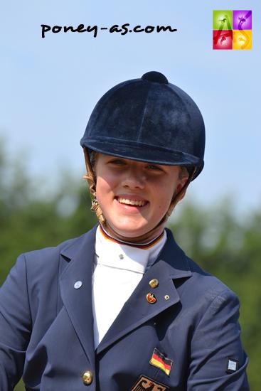 Jessica Krieg a de quoi avoir le sourire, 6 victoires sur 6 - ph. Pauline Bernuchon