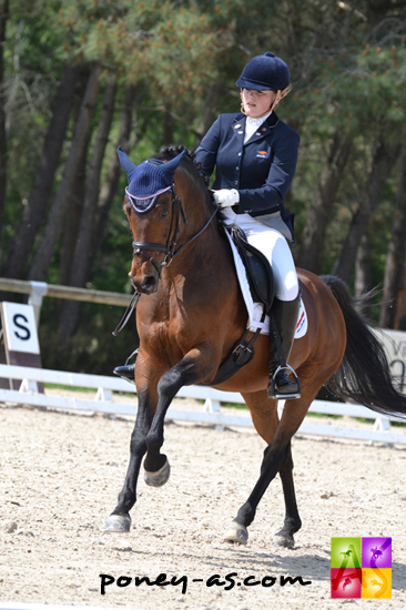 Lotte Meulendijks (Ned) et Boticelli 4 - ph. Pauline Bernuchon