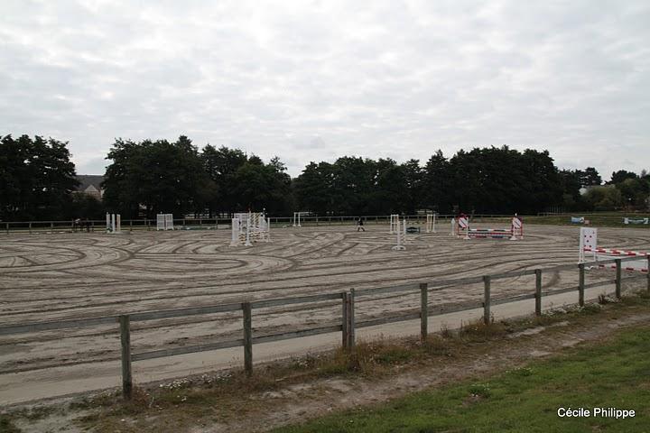 Le terrain du parc équestre Lamballe - ph. Cécile Philippe