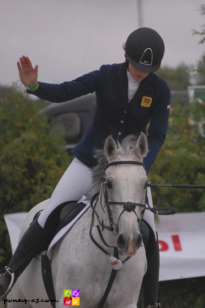 Beth Vernon et Falaza, la victoire ! - ph. Camille Kirmann