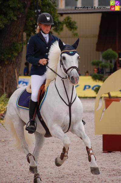 Ix de l'Aulne, l'un des poneys français présents sous selle étrangère - ph. Camille Kirmann