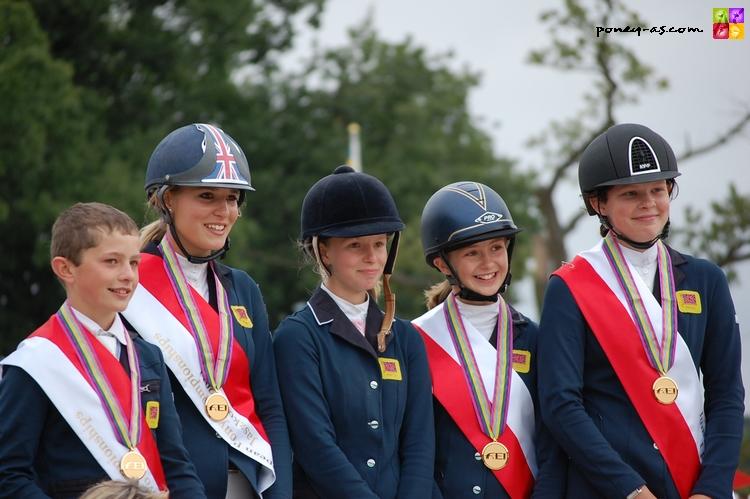 Les Anglais champions d'Europe - ph. Camille Kirmann