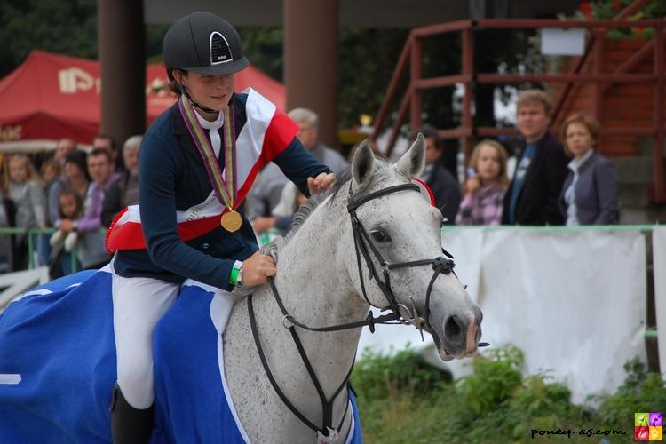 Les championnes 2011, Beth Vernon et Falaza - ph. Camille Kirmann