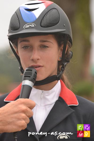 Tressy Muhr devant les caméras - ph. Pauline Bernuchon