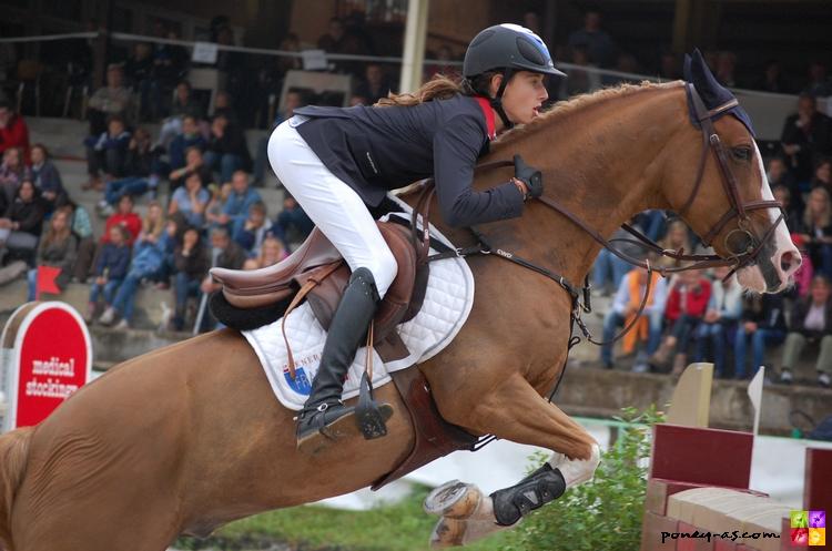 Tressy Muhr et Milford de Grangues accèdent à la huitième place - ph. Camille Kirmann
