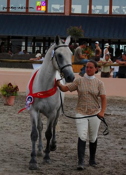 Un Eté au Ponthouar, champion de France des mâles 2011 - ph. Matthieu Bellivier