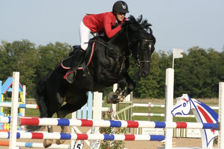 Carla Sicsic et Milord des Chouans - ph. Village Equestre de Conches