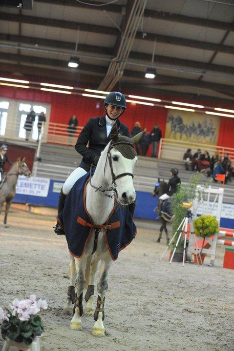 Emilie Carradot, gagnante de l'édition 2011 et engagée avec deux poneys en 2012... vers un doublé ? - ph. coll. privée