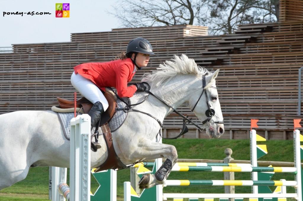 Lou Pelamatti et Jockey du Colombier, 2e - ph. Camille Kirmann