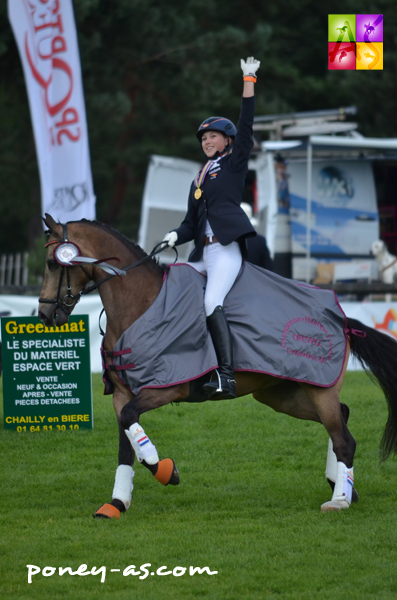 Sanne Vos et TC Champ of Class - ph. Camille Kirmann