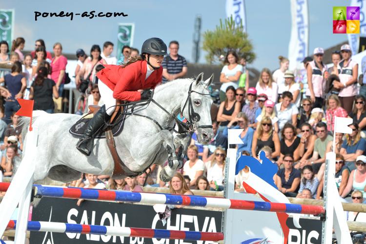 Lou Pelamatti et Jockey du Colombier - ph. Pauline Bernuchon