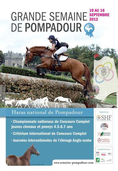 Finales des Cycles Classiques Jeunes Poneys de Sport, CCE, édition 2012