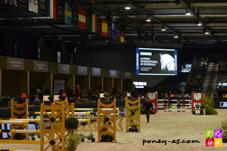 Jumping Bordeaux Super As poney cso