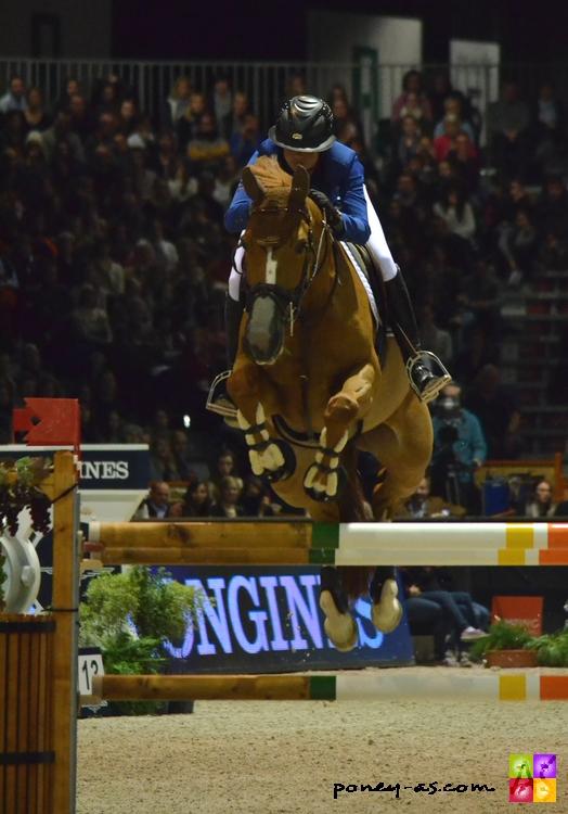 Pénélope Leprevost à Bordeaux en février, 6e du Grand Prix Coupe du monde avec Flora de Mariposa - ph. Camille Kirmann