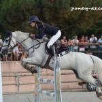 Ilona Garcia et Okehurst Quick Silver - ph. Camille Kirmann
