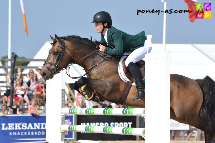 European Pony Championships Malmö 2015 - Michael Pender (Irl) et Imagine If One – ph. Pauline Bernuchon