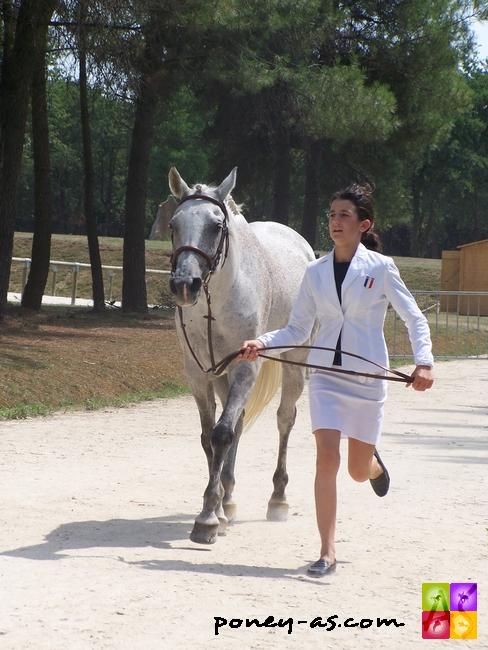 Une belle sixième place en CCE pour Marie Bouchanville et Filou du Breuil - ph. Pauline Bernuchon