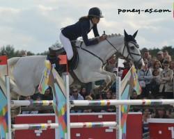 Ilona Garcia et Okehurst Quick Silver - ph. Pauline Bernuchon
