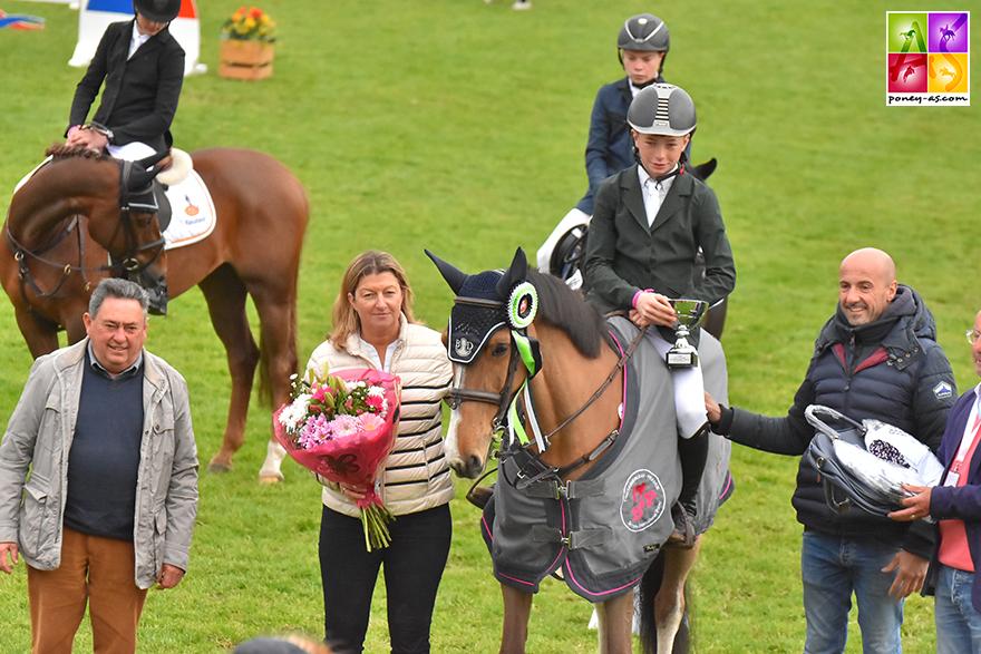 Seamus Hughes-Kennedy et MHS Kilkenny All Star - ph. Pauline Bernuchon