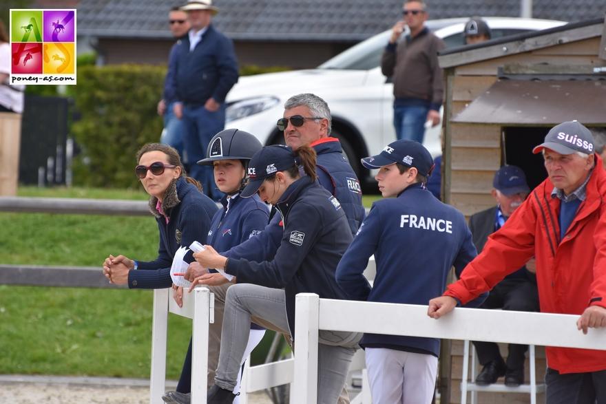 L'équipe de France de CSO à Opglabbeek