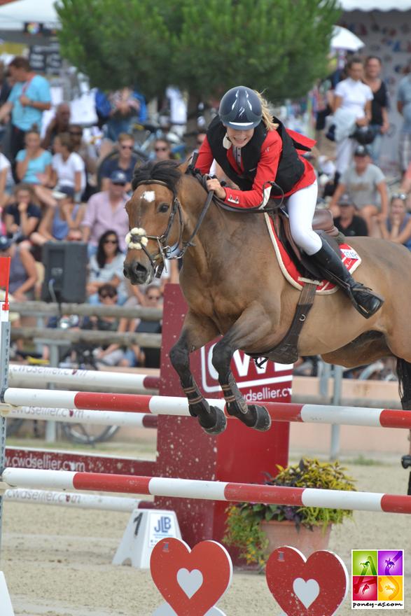 Margaux Courdent et Un Champion Delalande - ph. Pauline Bernuchon
