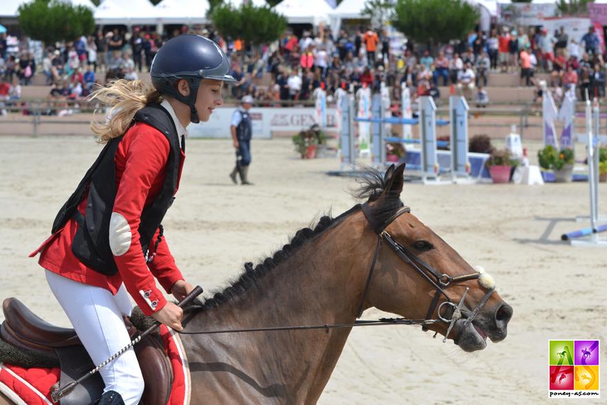 1re, Margaux Courdent et Un Champion Delalande - ph. Pauline Bernuchon