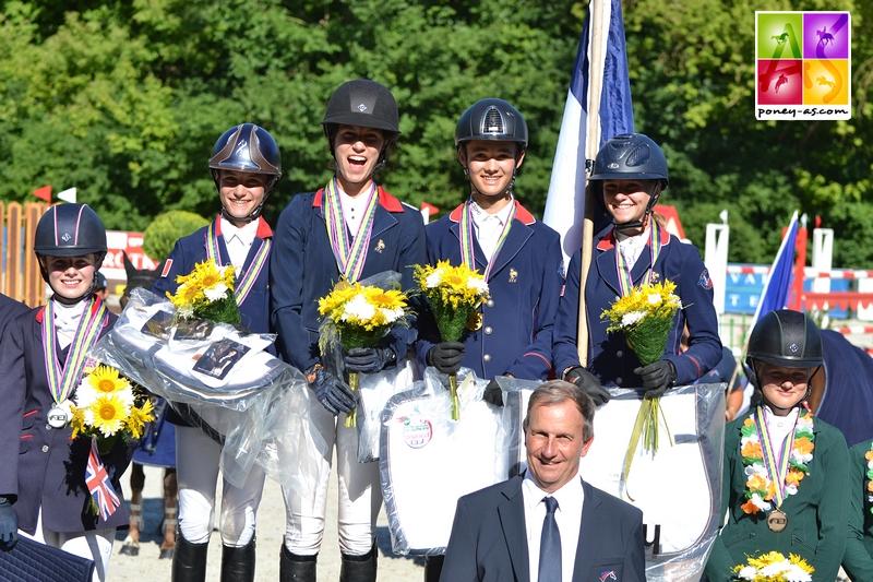 L'équipe de France de CCE ramène l'or ! - ph. Pauline Bernuchon