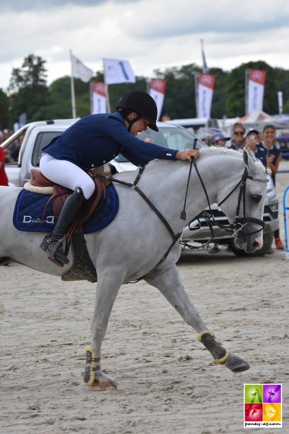 Camille Favrot et Uhelem de Seille, Generali Open de France - ph. Poney As