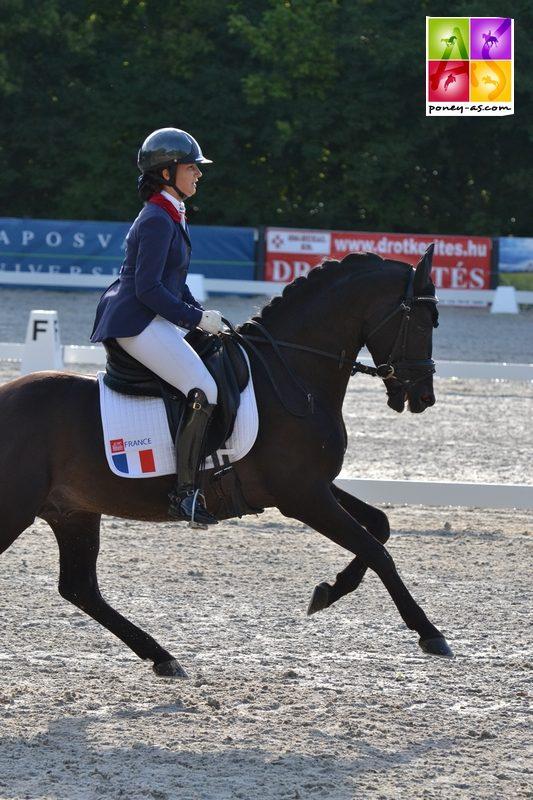 17e, Charlotte Palas (Fra) et Under Cover Fast - ph. Pauline Bernuchon