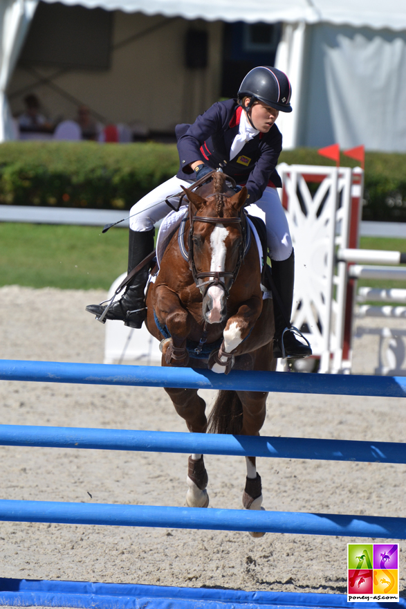 1re, Georgina Herrling (Gbr) et SF Detroit - ph. Pauline Bernuchon