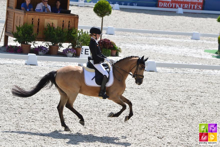 1re, Lucie-Anouk Baumgürtel (Ger) et Zinq Massimiliano FH - ph. Pauline Bernuchon