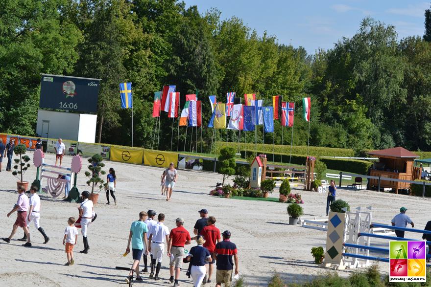 La piste du Pannon Equestrian Academy de Kaposvàr - ph. Pauline Bernuchon