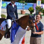 Liloï et sa coach Sophie Lemoine - ph. Pauline Bernuchon
