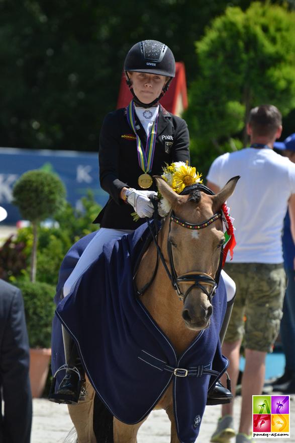 Lucie-Anouk Baumgürtel (Ger) et Zinq Massimiliano FH s'offrent leur 6e médailles d'or depuis 2016 ! - ph. Pauline Bernuchon