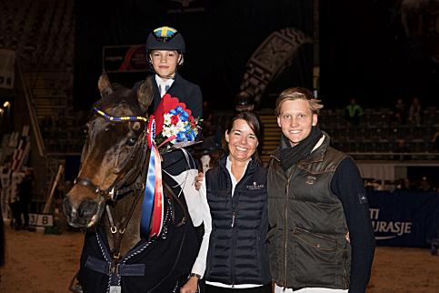 Ingemar Hammarström (Swe) et Océan des As - ph. Oslo Horse Show