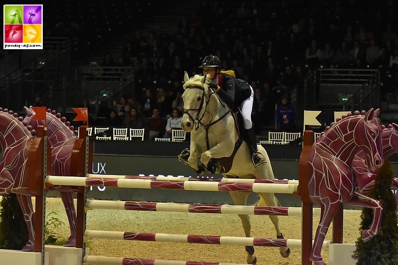 Liz Humet et Titou des Etisses s'imposent dans le Grand Prix As Excellence de Reims - ph. Pauline Bernuchon