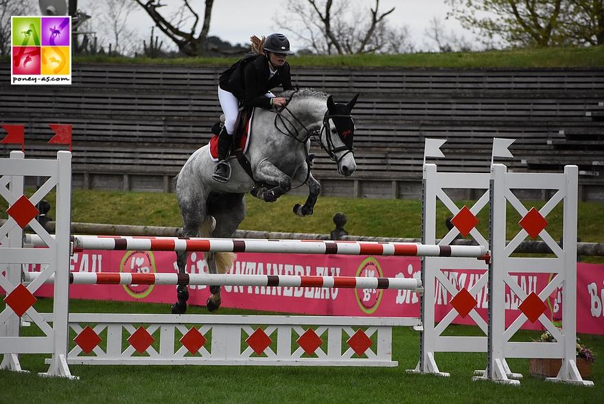 Sophie Bolze et Bridget d'Argouges, 5 points - ph. Poney As
