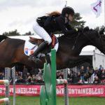Seul double 0, le couple Louna Garo / Alto de Fougnard signe une victoire dans le Grand Prix du CSIP de Fontainebleau - ph. Poney As