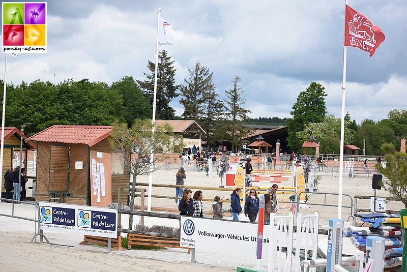 Un week-end de Tournée des As à Lamotte-Beuvron avec 3 pistes ouvertes, la 1, la 2 et la 3 - ph. Poney As