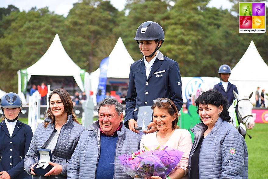 Raphaël Sales, ici au BIP (meilleur cavalier du CSIP), remporte la Vitesse et l'As Excellence de Pompadour avec Quolibri de l'Etivant - ph. Poney As