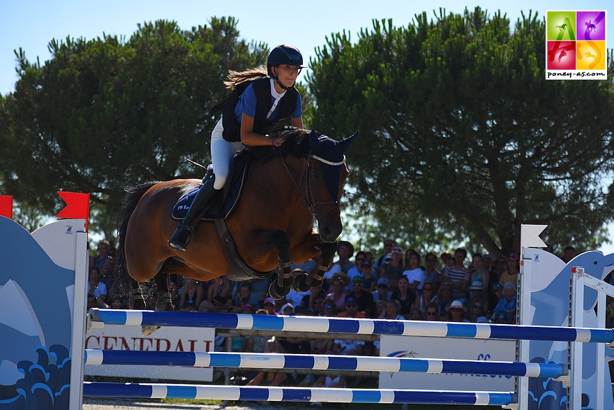 16e : Carla Garriga et Mylana - 4+12+el - ph. Poney As