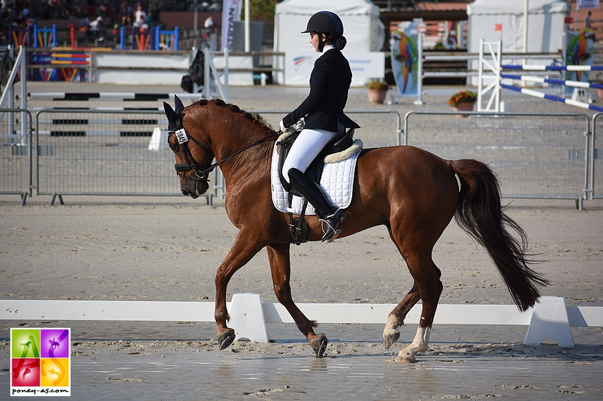 Cassandre Massicot et Boyard Brianelle - ph. Poney As